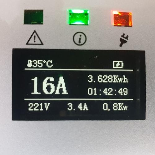 3-EV EVSE Type2 (max. 16A) Borne de recharge mobile