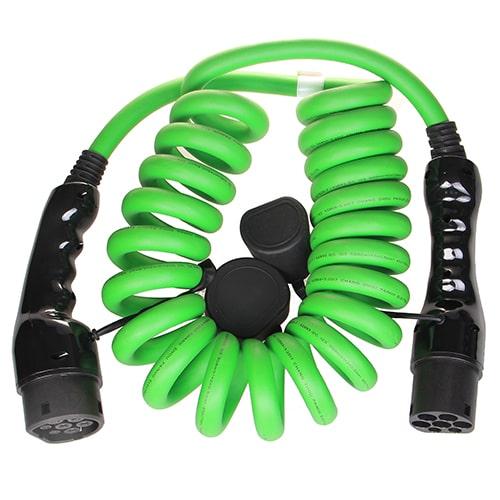 2-EV Type2 -> Type2 spiral (3x32A) Câble de recharge véhicule électrique