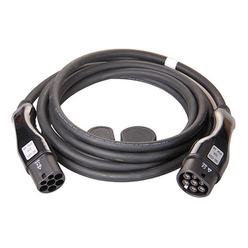 1-EV Type2 -> Type2 (3x32A) Câble de recharge véhicule électrique